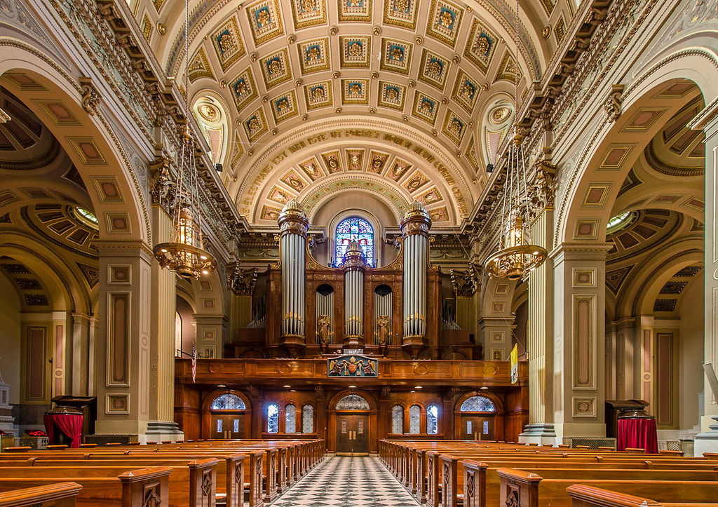 Cathedral Basilica Of Saints Peter And Paul Philadelphia