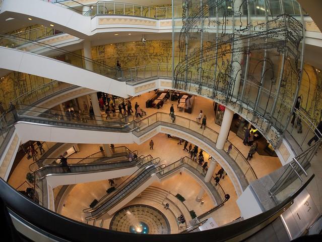 shopping mall quotlimbecker platzquot essen germany flickr