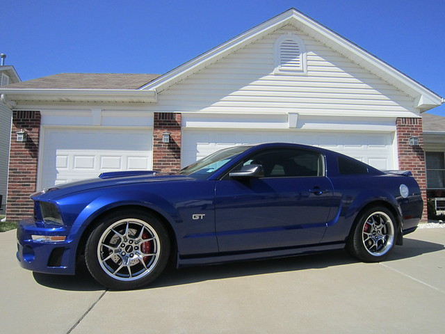 2005 mustang gt new gt4 18 wheels flickr photo sharing. Black Bedroom Furniture Sets. Home Design Ideas