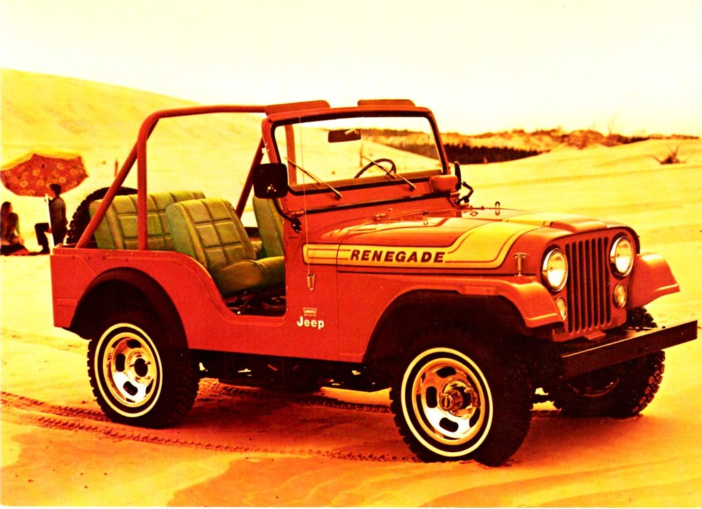 1975 jeep cj 5 renegade in renegade orange alden jewell flickr. Black Bedroom Furniture Sets. Home Design Ideas