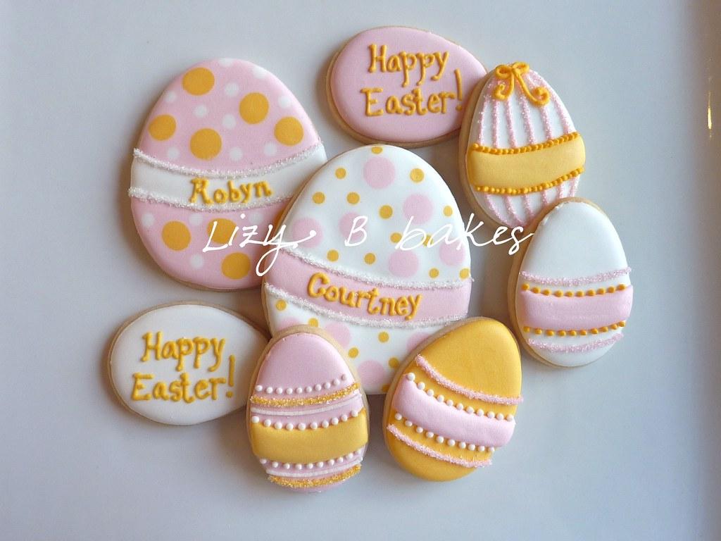 Easter Egg Cookies   lizybbakes.blogspot.com/2012/03 ...