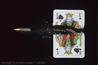Bullet thru Card | by Murat-C