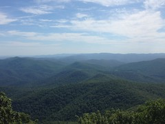 View From Blood Mountain