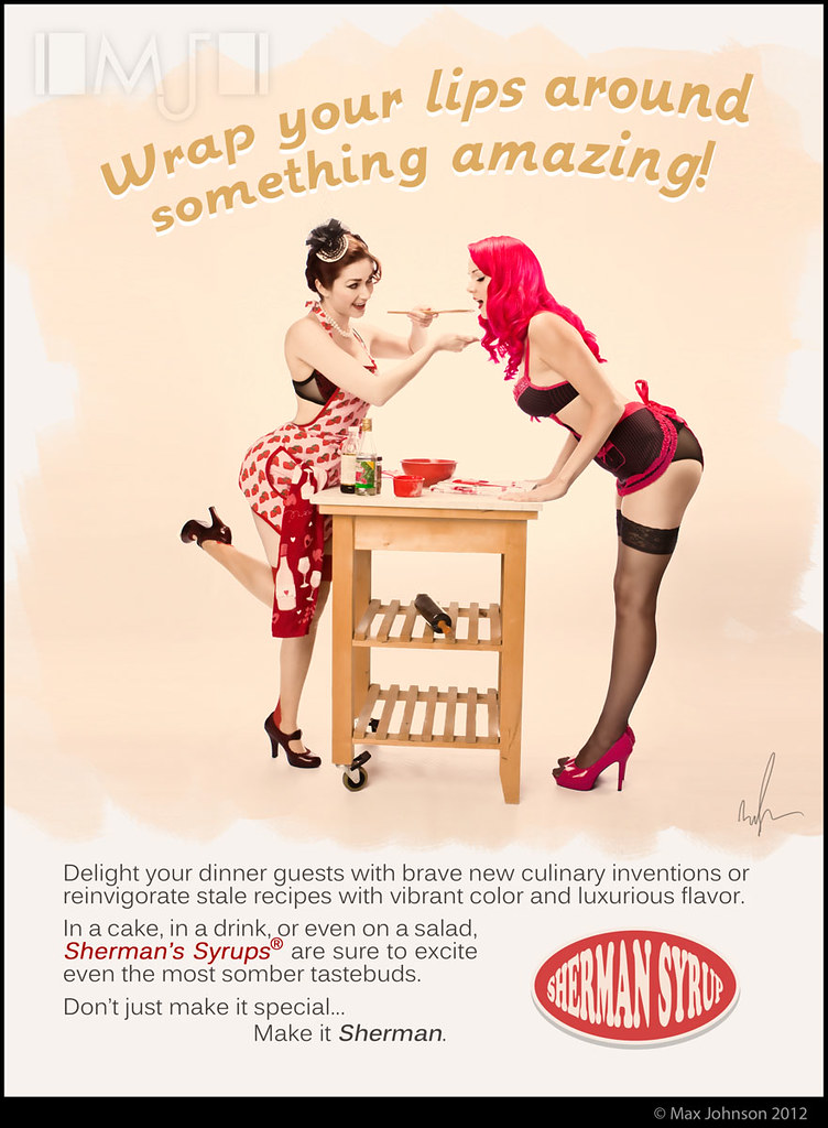 Spoof Retro Pinup Ad Maybe I Ve Been Watching Too Much