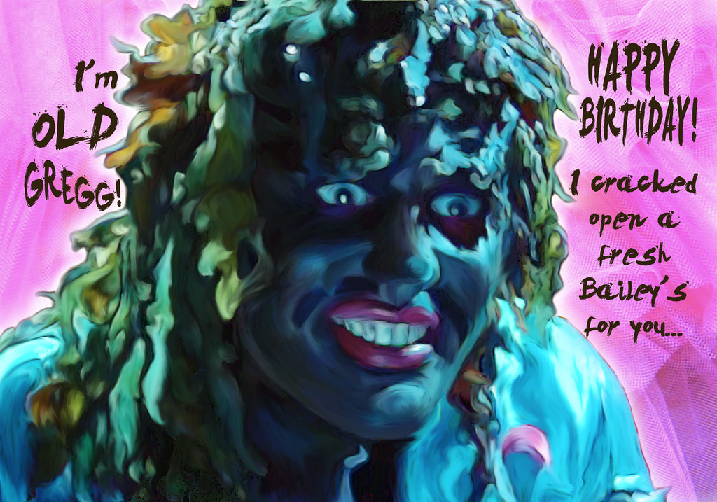 Old Gregg Birthday I Made This Digital Drawing Of Old