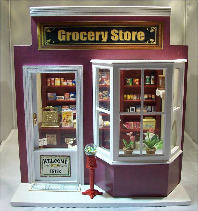 Grocery Store 1 12 Scale Grocery Store Available As An