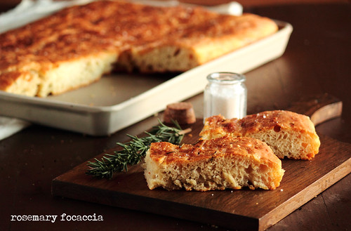 Rosemary Focaccia | by pastryaffair