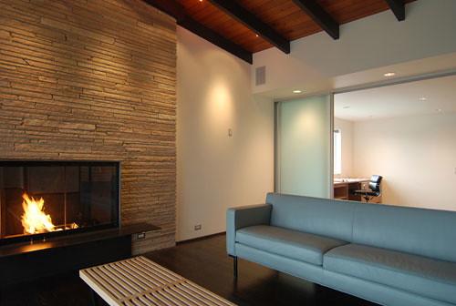 Modern Brick Fireplace Amy Stoddard Flickr