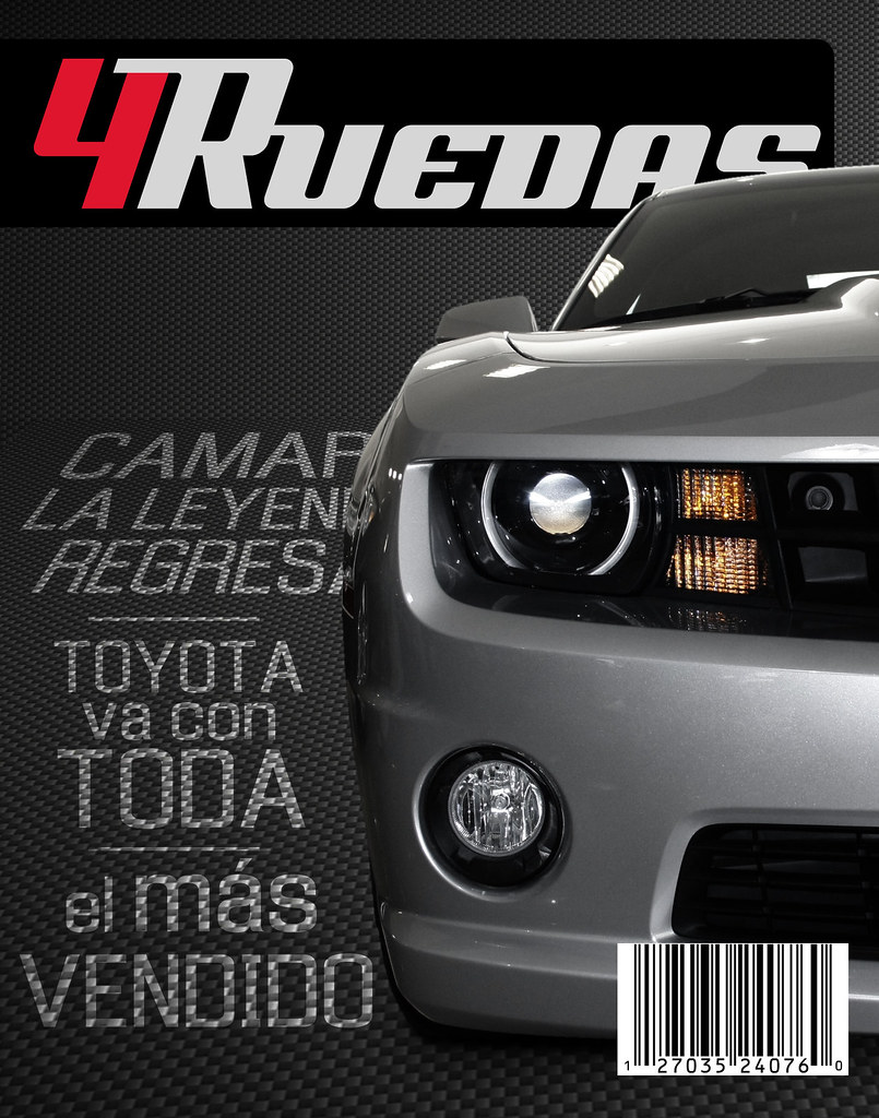 Portada De Revista De Autos J Montoya B Flickr