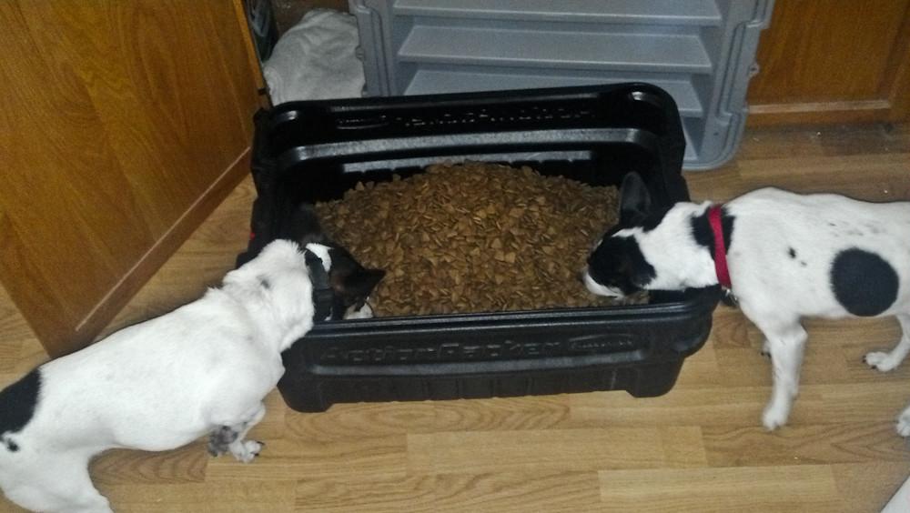 Dog Food Tote
