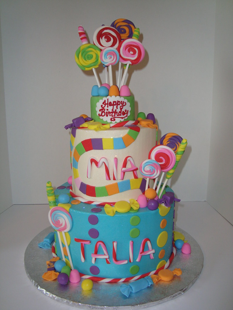 Candyland Cakes For Kids Birthday