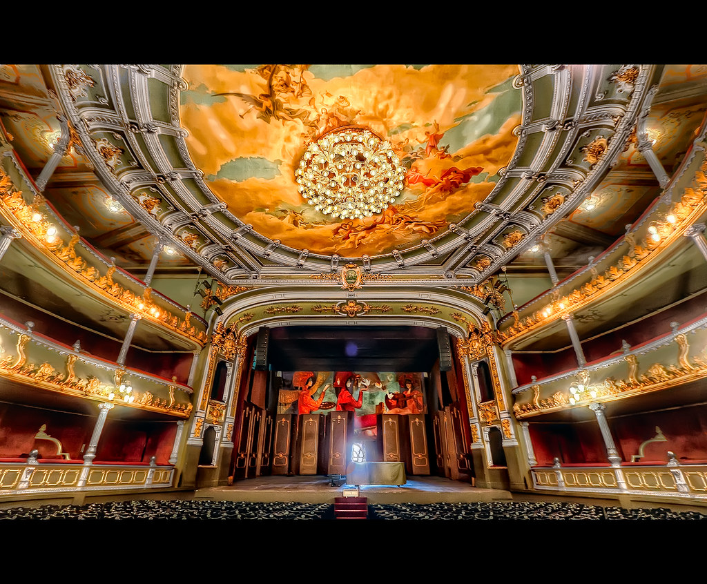 Costa Rica S National Theater Built In 1890 Opened To