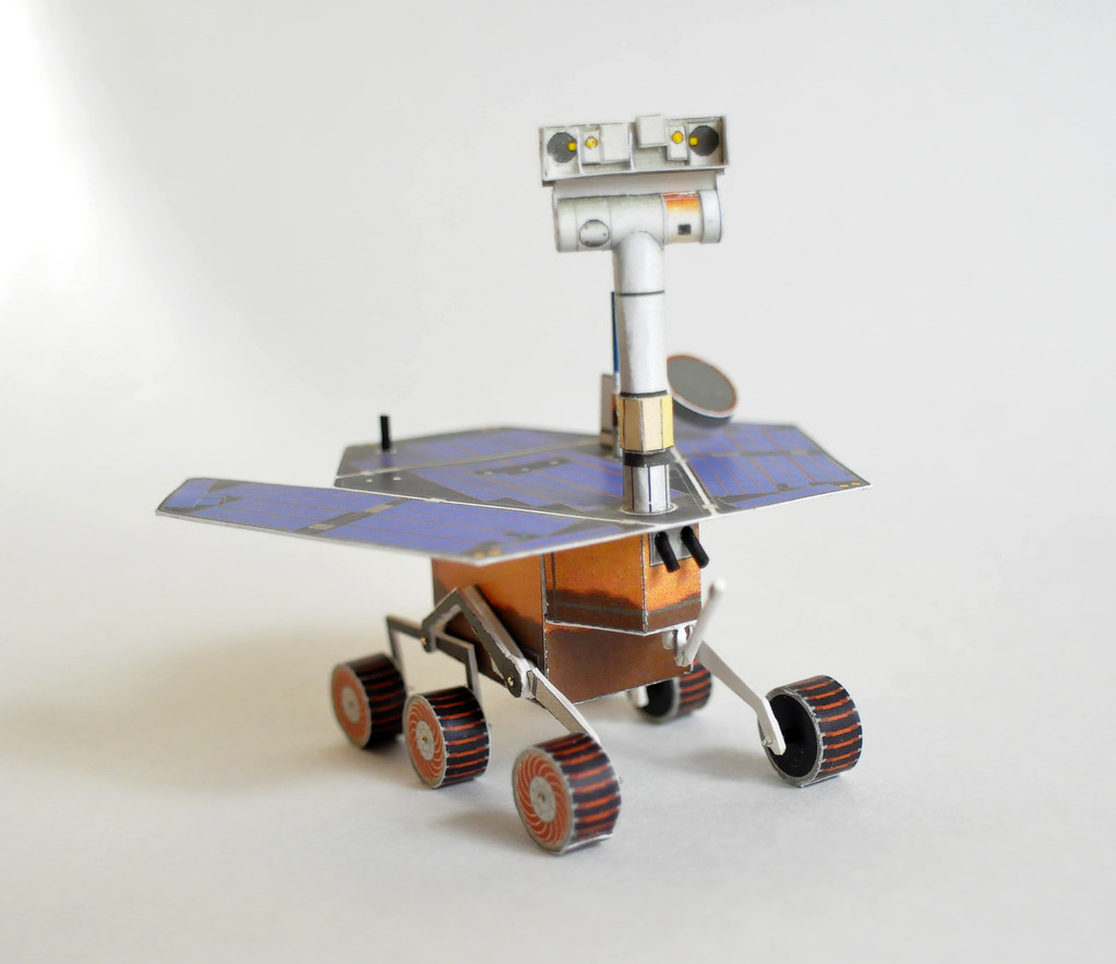 mars rover papercraft - photo #4