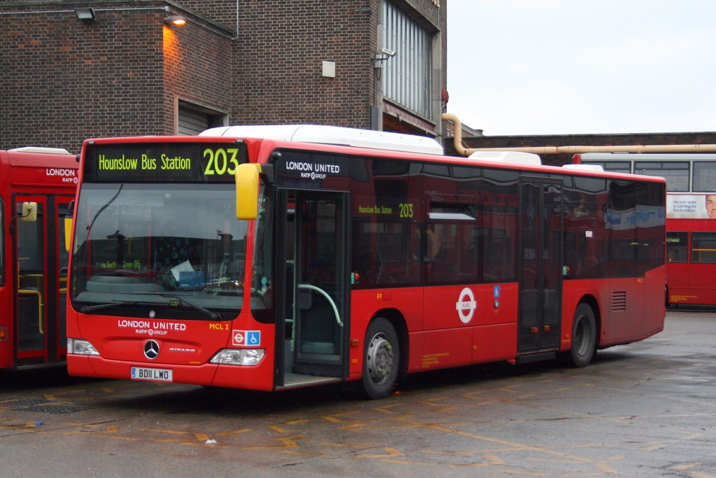 London United Mercedes-Benz Citaro | MCL2 London United ...