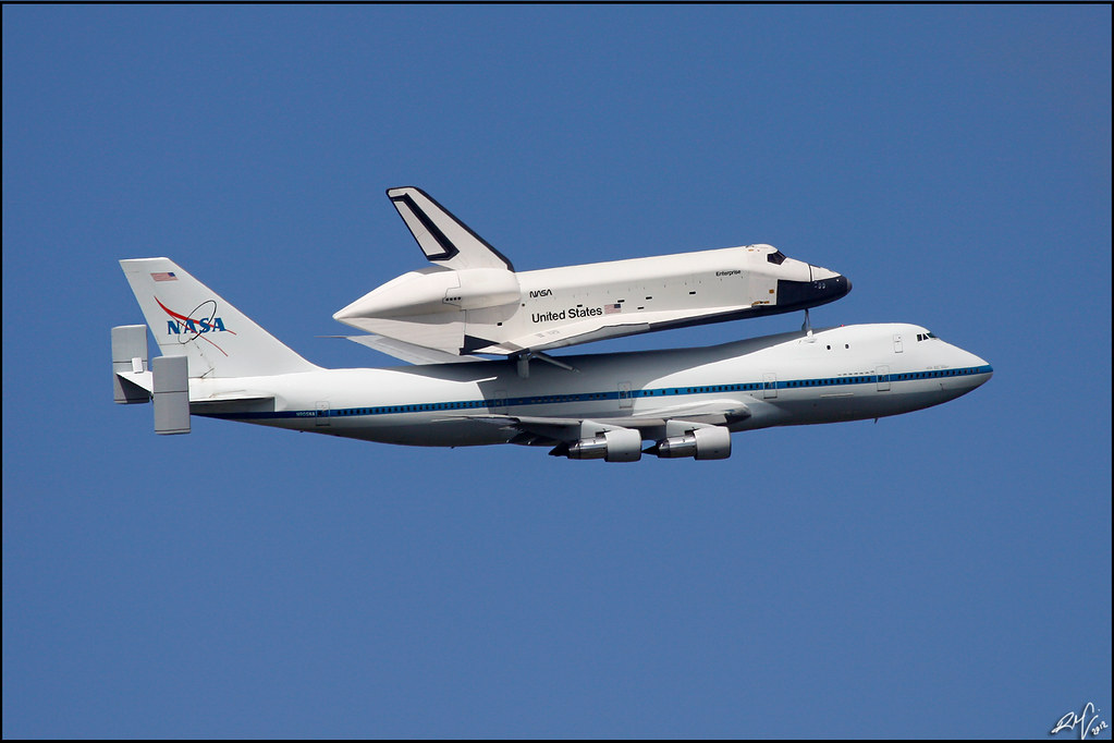 space shuttle carrier 747 american airlines - photo #16