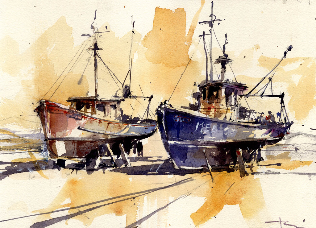 2 boats tony belobrajdic flickr for How to ship fish