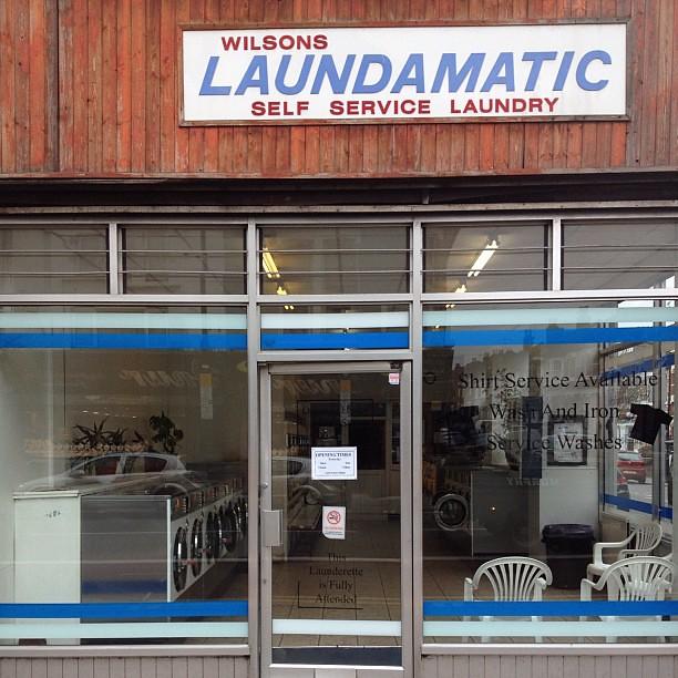 Self Service Laundry ~ Wilsons laundamatic self service laundry london signa