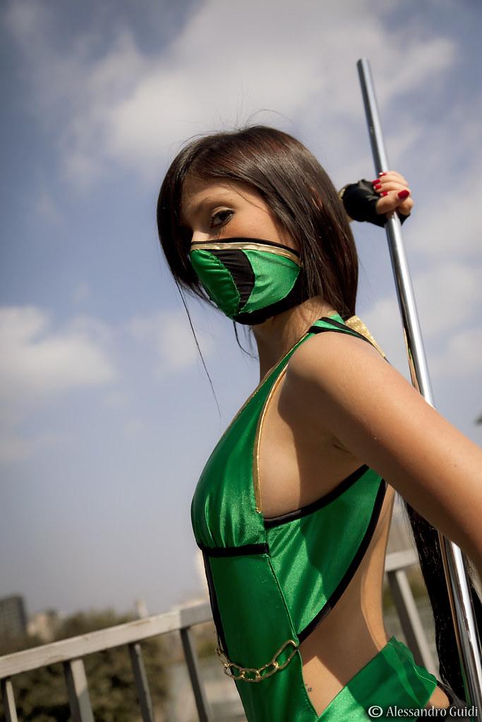 Mortal kombat kitana cosplay - 2 9