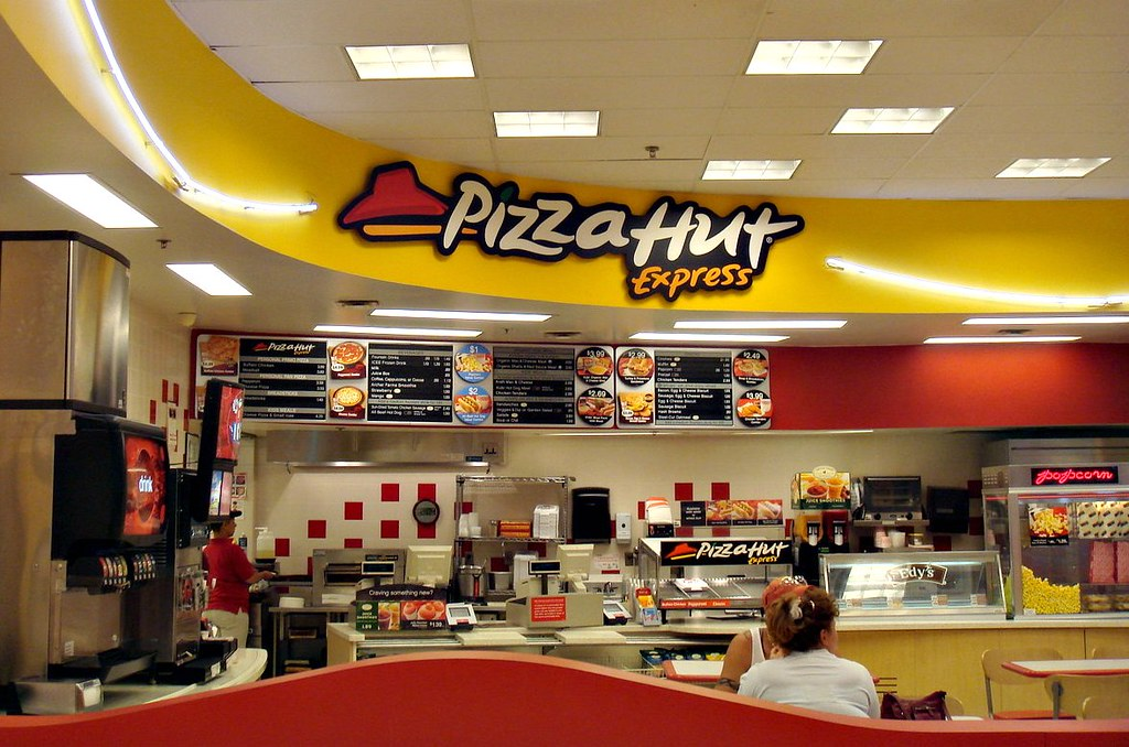 Target Cafe Pizza Hut Menu