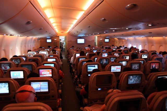 A6-EDH Airbus A380 Emirates cabin | Flickr - Photo Sharing! | 500 x 333 jpeg 126kB