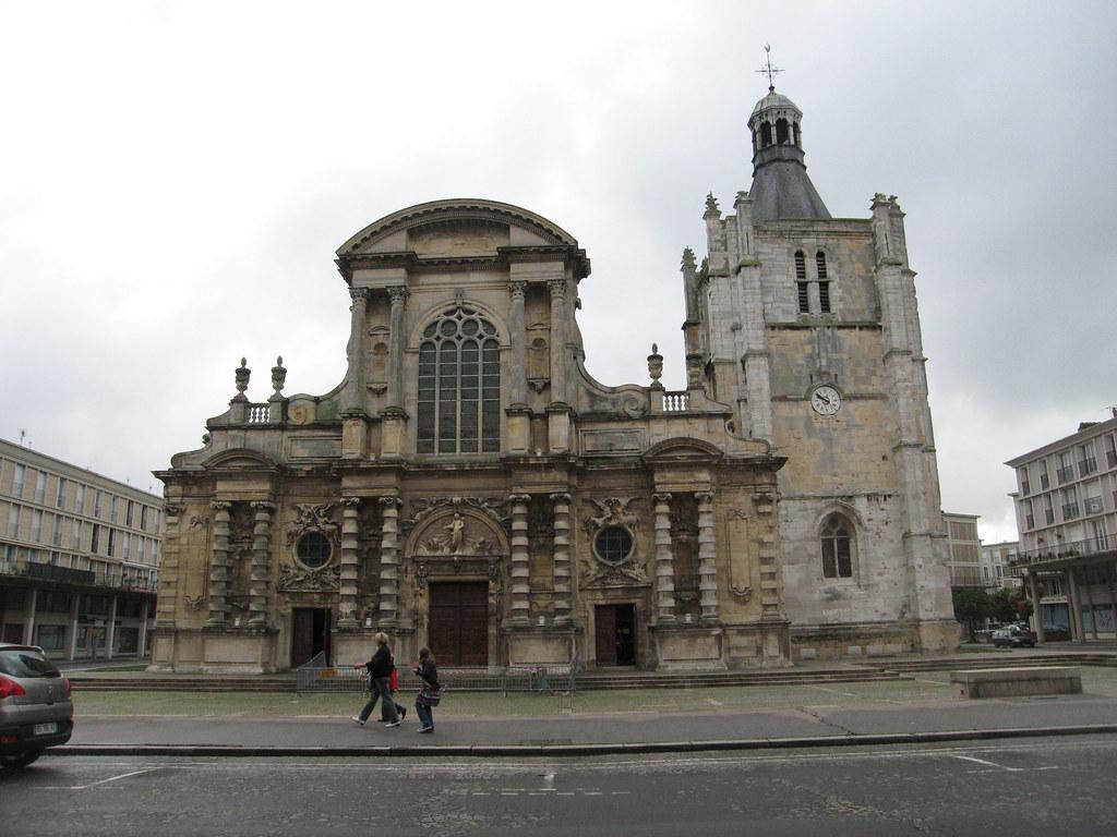 cathedral notre dame du havre le havre cathedral cath dra flickr. Black Bedroom Furniture Sets. Home Design Ideas