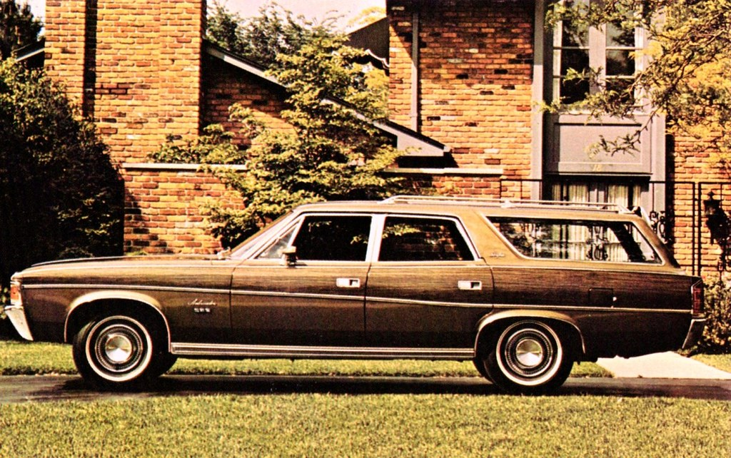1971 Amc Ambassador Brougham 4 Door Wagon Alden Jewell