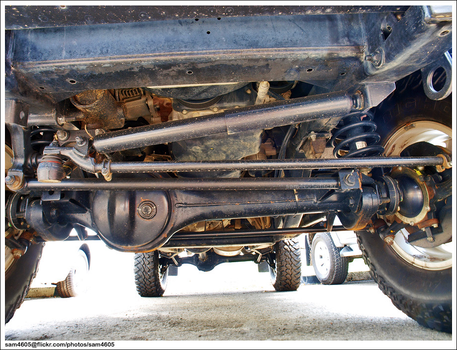 Land Rover Defender 110 Single Cab Front Axle Sam4605