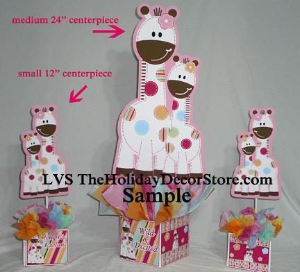 Giraffe Birthday Party Custom Baby Shower Personalized Cenu2026 | Flickr