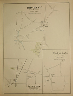 Page 285 of Town and city atlas of the State of Connecticut. / Compiled from government surveys, county records and personal investigations | by uconnlibrariesmagic