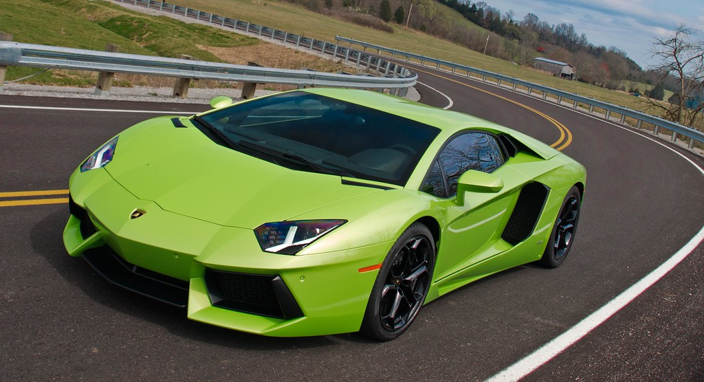 Verde Ithaca Lamborghini Aventador Lp700 4 Photo Shoot Ex