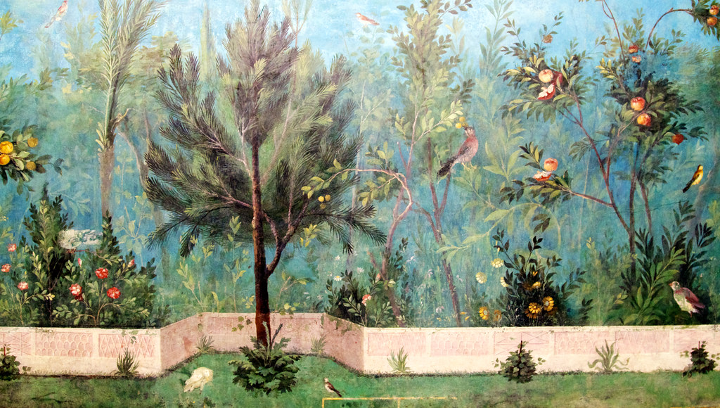 About >> Hortus conclusus | 21.4.2011: from the Villa of Livia or ...