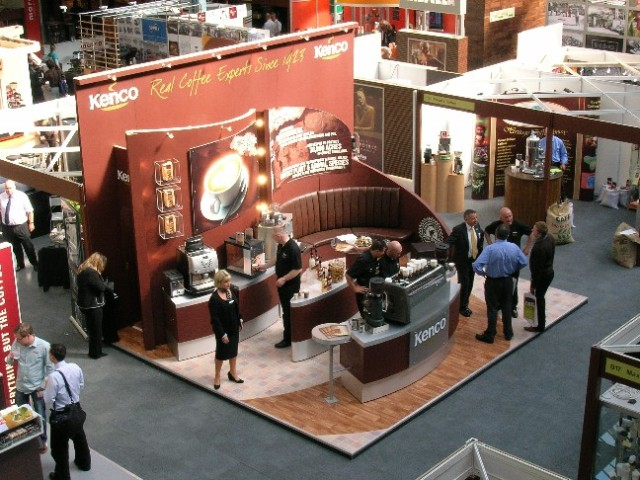 Exhibition Stand Terms And Conditions : Quality exhibition stand for kenco coffee peter forse
