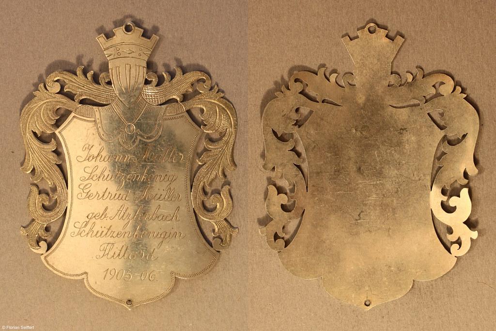 Koenigsschild Flittard von mueller johann aus dem Jahr 1905