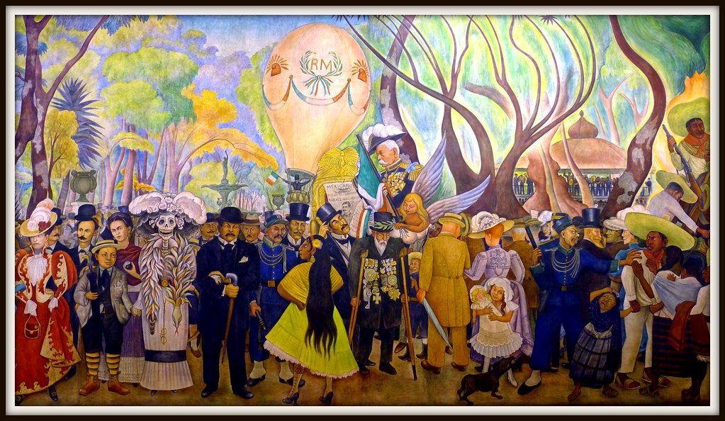 Museo mural diego rivera mexico city alex e pajares for Diego riveras mural