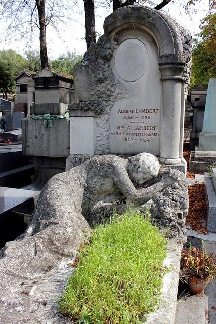 Grave of albert lambert 1866 1926 and his wife marie antoinette maraud 187 - Marie antoinette grave ...