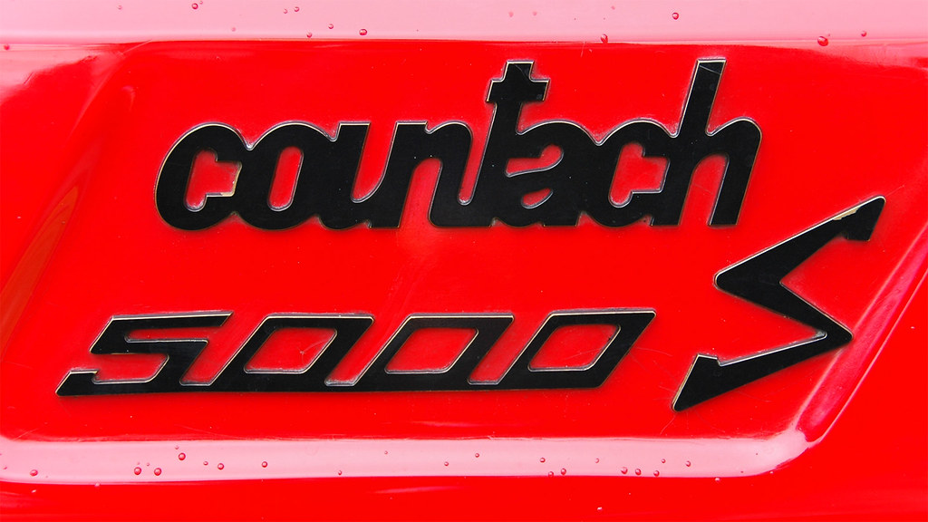 Lamborghini Countach Lps X Taken At The  Flickr