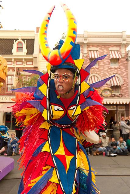 Mickey's Soundsational Parade: Stilt Performer | Flickr ...