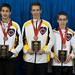 Napanee, ON Feb 11 2011 M&M Canadian Juniors Team Manitoba Bronze Medal. Michael Burns Photo Ltd.