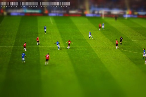 Wigan Athletic vs Manchester United Subbuteo | by manutdot