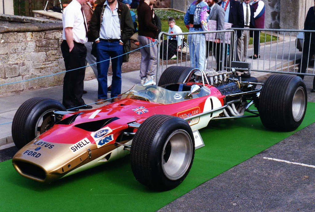 Lotus 49 Photograph Taken At Duns In 1993 At An Event