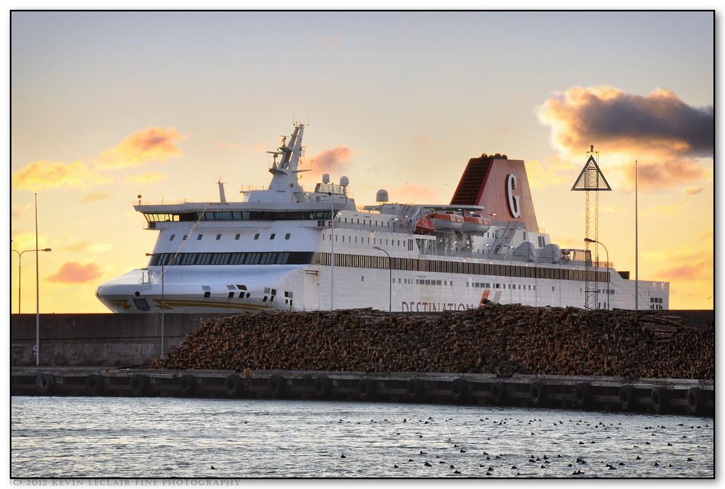 Ferry To Gotland Island