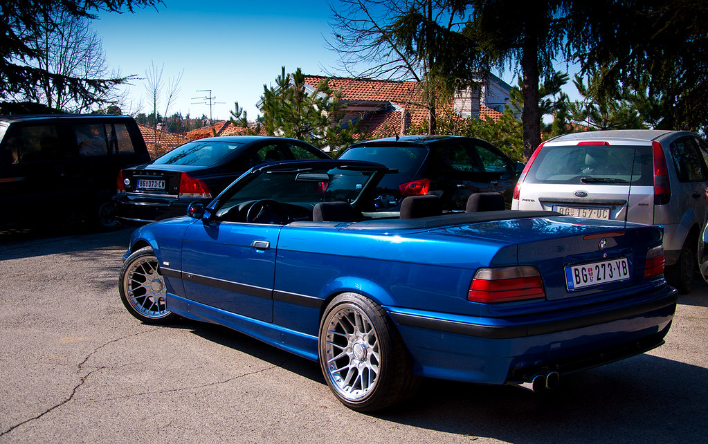 bmw e36 cabrio bbs rsii 8 10j et20 vukasin aleksic flickr. Black Bedroom Furniture Sets. Home Design Ideas