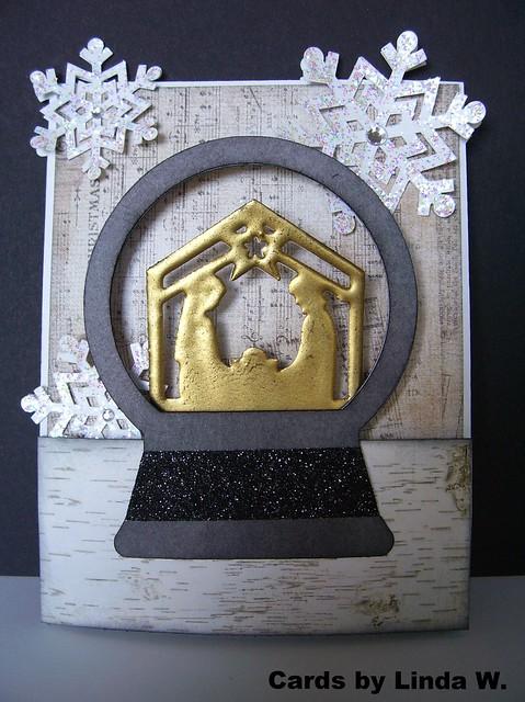 Snow Globe Nativity