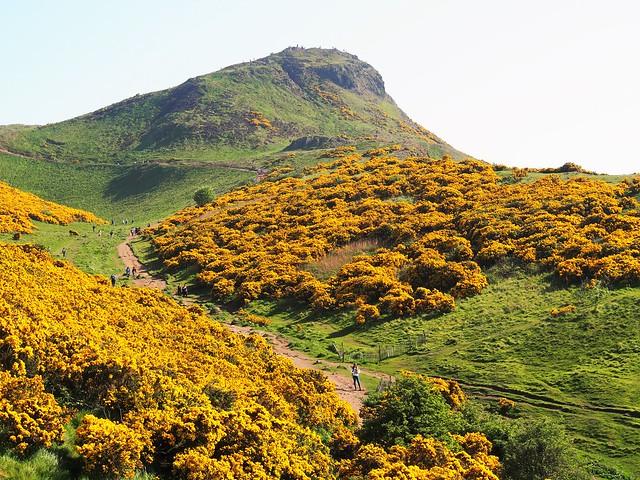 Arthur's Seat, Holyrood Park, Edinburgh, Scotland