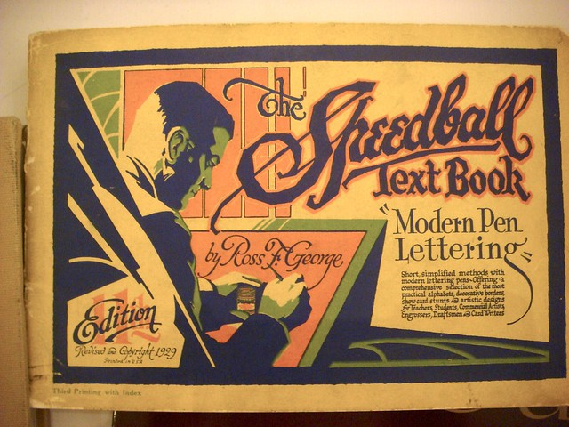 The Speedball Text Book By Ross F George 1929 Flickr