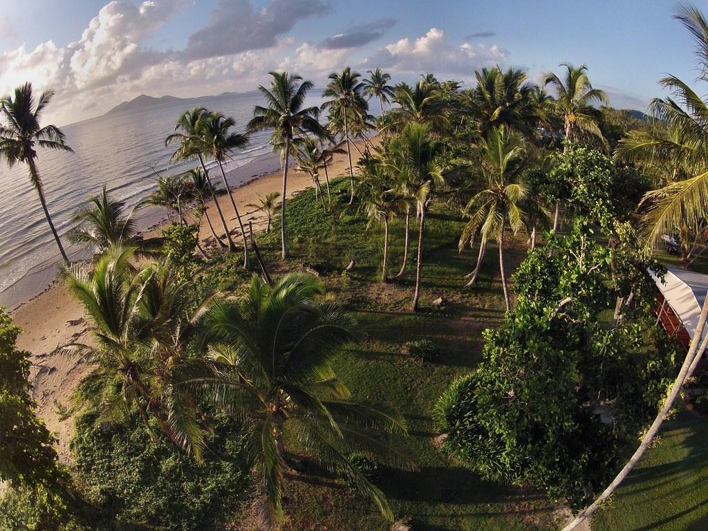 Castaways resort spa mission beach heli pics with a go for R b salon coimbatore
