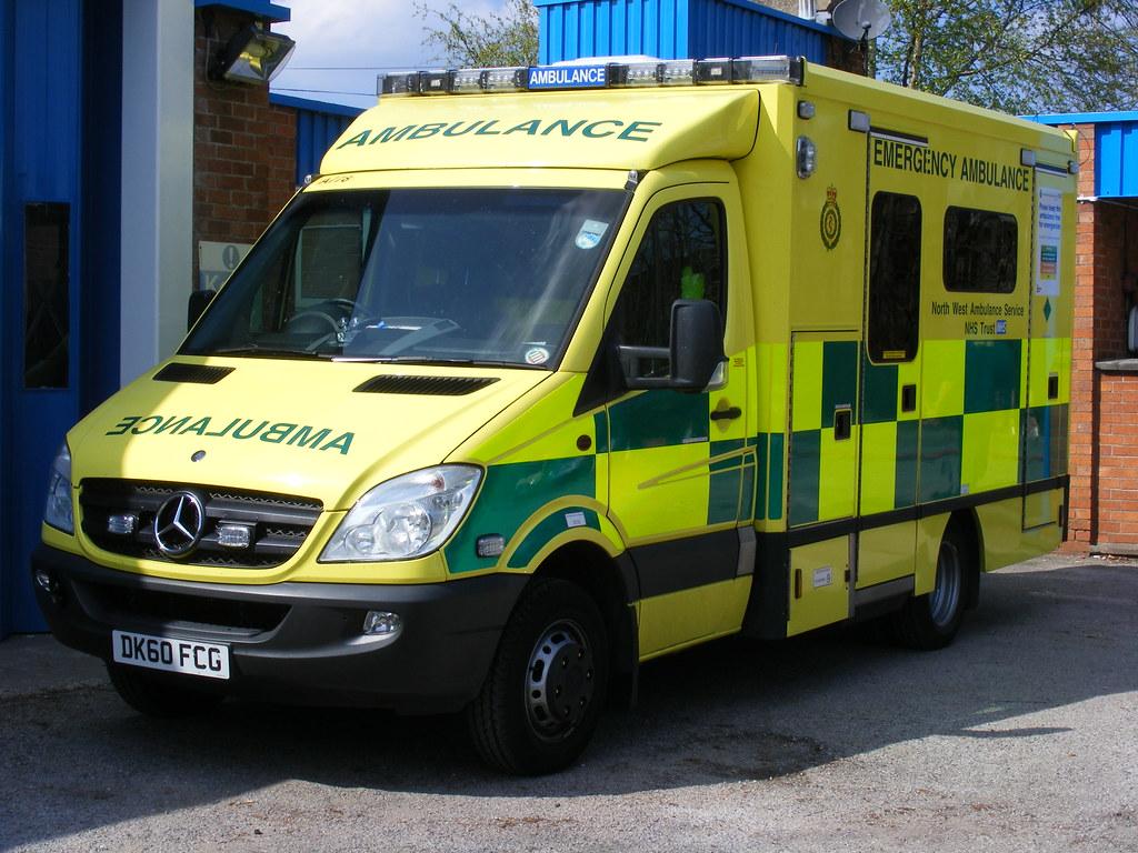 New Mercedes Sprinter >> 1395 - NWAS - North West Ambulance Service - Mercedes Spri…   Flickr