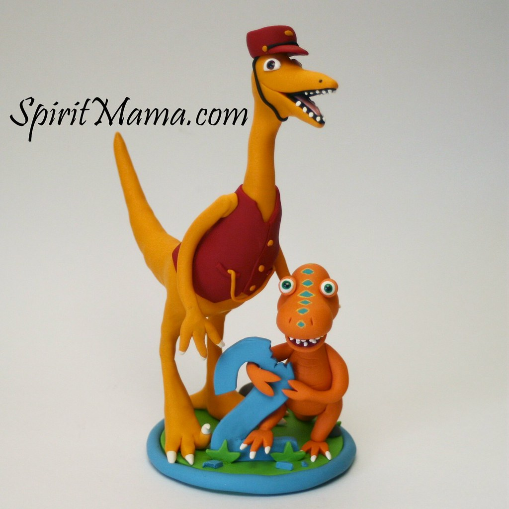 Dinosaur Train Birthday Cake Topper This Is A Cake
