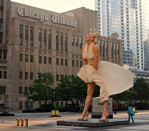 Larger Than Life In Chicago Seward Johnson S Quot Forever Ma