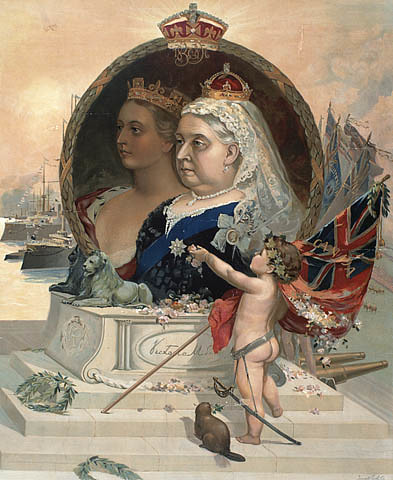 Young queen victoria and albert
